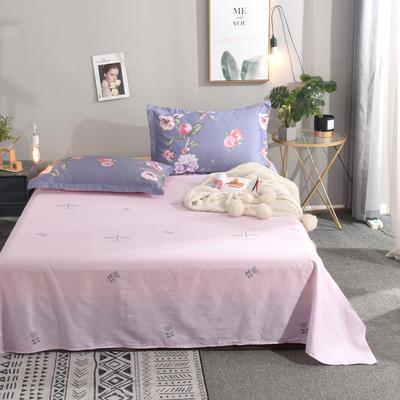 2020新款全棉单品床单 120cmx130cm 花漾年华