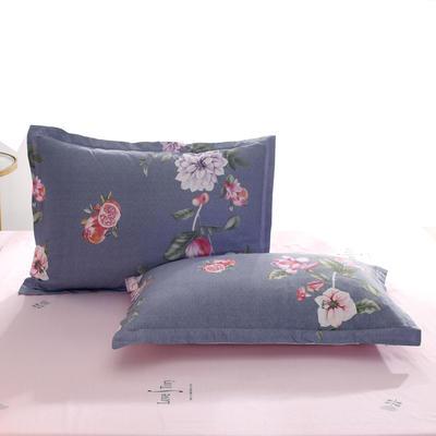 2020新款全棉单品枕套 48cmX74cm/个 花漾年华