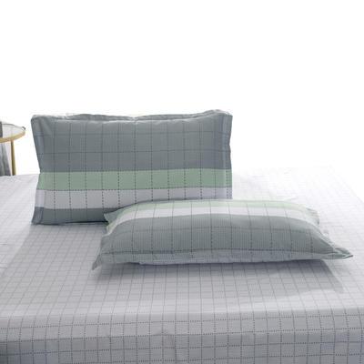 2020新款全棉单品枕套 48cmX74cm/个 灰色轨迹