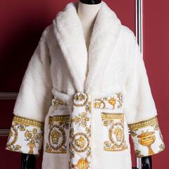 迈凯伦大衣式睡袍 L(165cm~190cm) 范思哲白