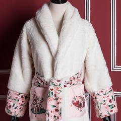 迈凯伦大衣式睡袍 L(165cm~190cm) 小猫咪