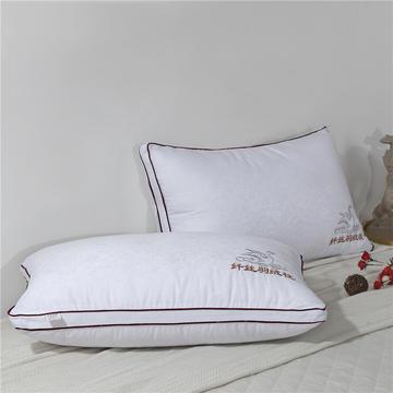 立体羽丝绒枕