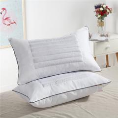 薰衣草养身枕 白色磨毛单边荞麦枕