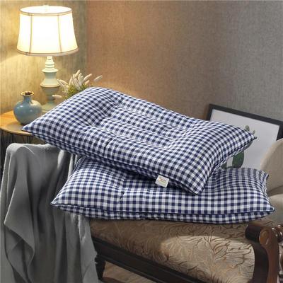 珍珠棉定型枕 珍珠棉保健枕-蓝格