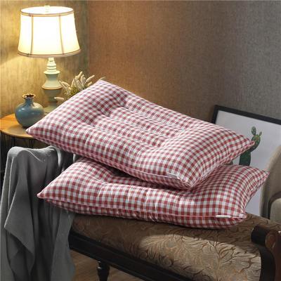 珍珠棉定型枕 珍珠棉保健枕-红格