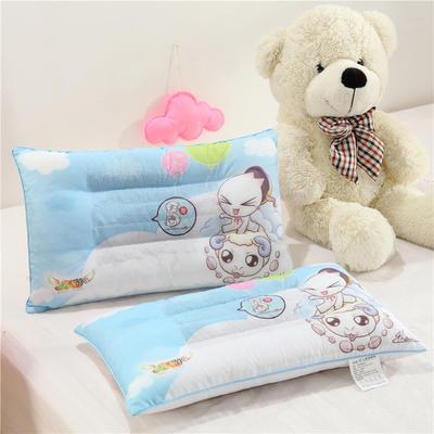 炫彩3D卡通儿童枕(30*50) 小宝骑羊
