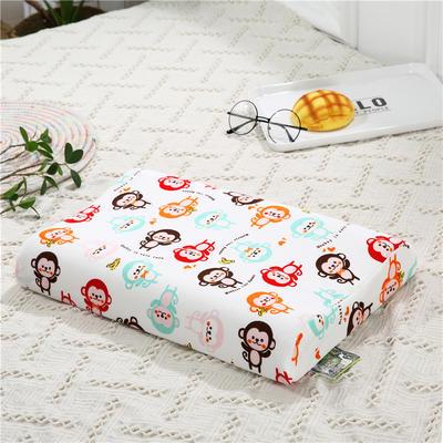2018新款-儿童乳胶枕 (44x27cm/只) 皮皮猴