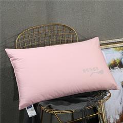 2018新款-热熔定型枕 (48x74cm/只) 粉色