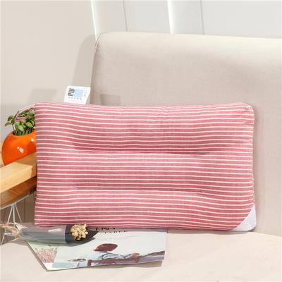 儿童枕(30*50) 30*50cm 红白条