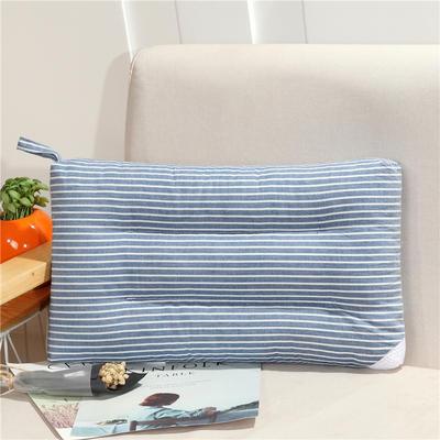 儿童枕(30*50) 30*50cm 蓝白条