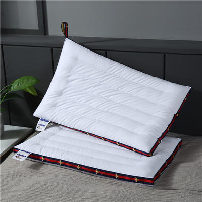 2019新款-全棉舒适低枕(48x74 ) 全棉舒适低枕