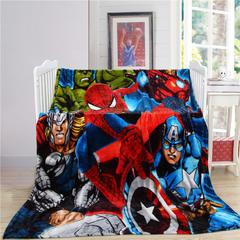 卡通定位独版法莱绒毯-150-200cm(卷边) 150*200cm 英雄联盟