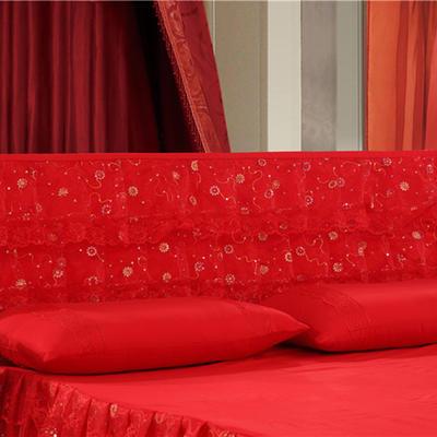 2019新款新款蕾丝床头罩系列-永结同心 180*50cm 永结同心