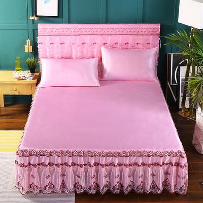 2019新款单床头罩 180*50cm 粉色