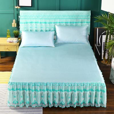 2019新款单床头罩 150*50cm 水绿