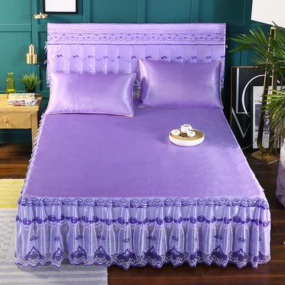 2019新款单床头罩 180*50cm 紫色
