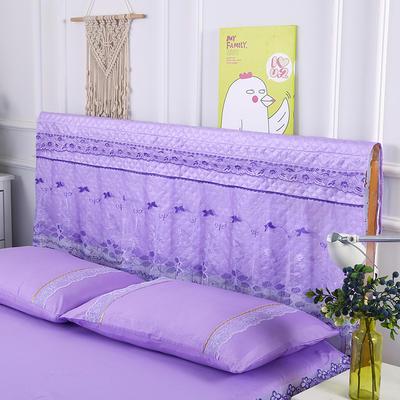 2019新款单品枕套-皇冠 48cmX74cm 皇冠-紫色