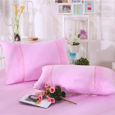 2019新款单品枕套-玫瑰公主 48cmX74cm 玫瑰公主(粉色)