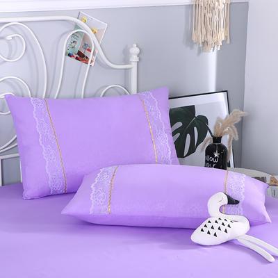 2019新款单品枕套-欧尚 48cmX74cm 欧尚-紫色