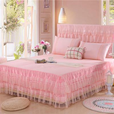 2019新款蕾丝床裙-美满家园 120*200+45cm单床裙 美满家园-玉色