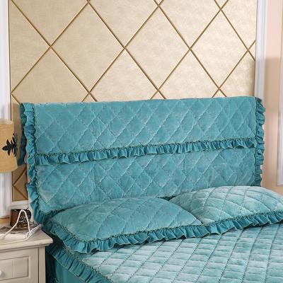 2019新款法莱绒夹棉单床头罩 120cmx55cm 橄榄绿