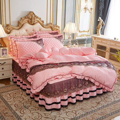 2020新款(四季款)细丝斜纹夹棉床裙系列—单品被套 220x240cm 玉色