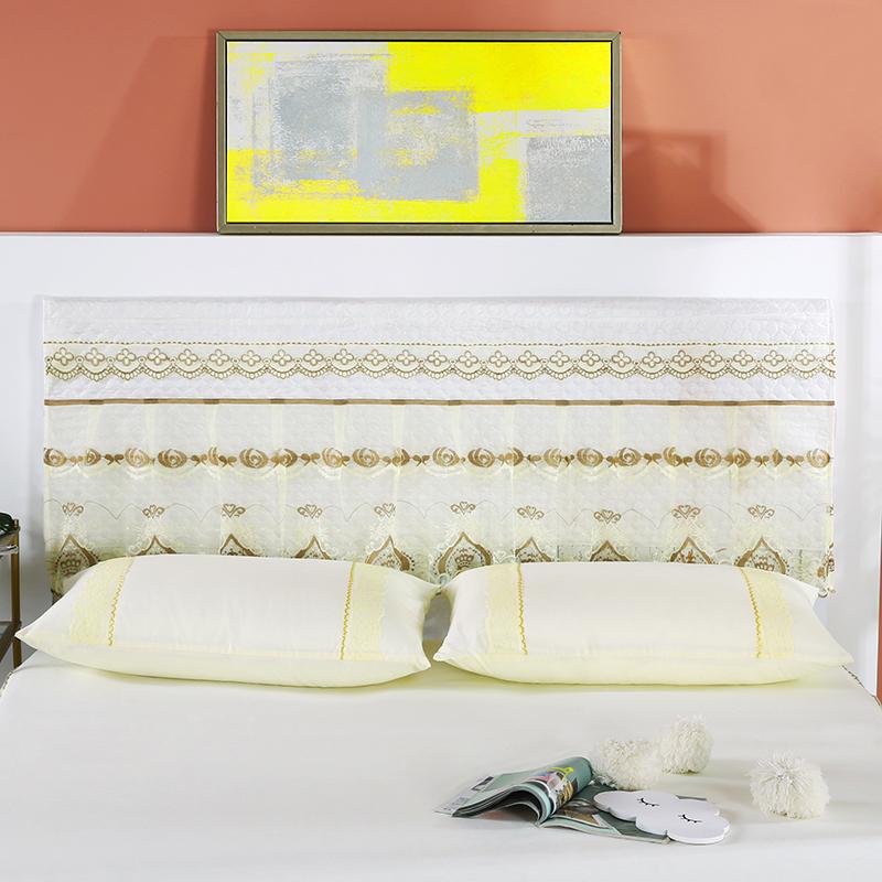 2020新款蕾丝床裙系列—床头罩