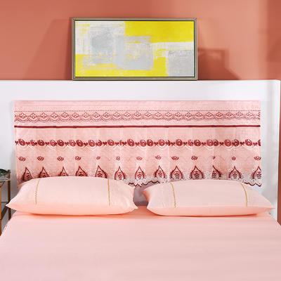 2020新款蕾丝床裙系列—床头罩 单品床头罩180cm宽*50cm高 玉色