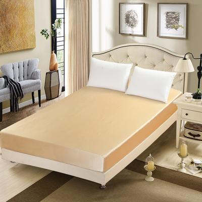 出口外贸 冰丝 真丝四件套单品(床笠),都可单卖 120cmx200cm 驼色