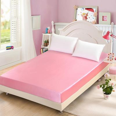 出口外贸 冰丝 真丝四件套单品(床笠),都可单卖 120cmx200cm 粉色