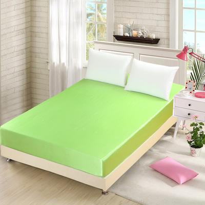 出口外贸 冰丝 真丝四件套单品(床笠),都可单卖 120cmx200cm 果绿