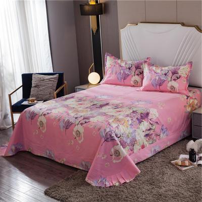 2020新款全棉活性生态磨毛纯棉单床单 180x240cm 米兰达