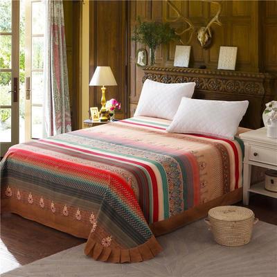 2020新款全棉活性生态磨毛纯棉单床单 180x240cm 欧典风尚