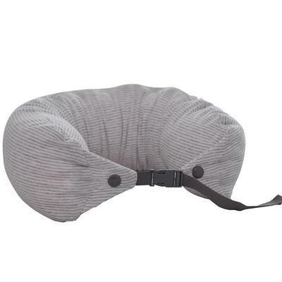 219新款U枕--粒子 白灰条纹15.5*65cm