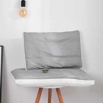2019新款可拆可洗亚麻荞麦枕 荞麦枕48*74cm