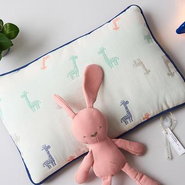 2019新款六层纱棉花儿童枕