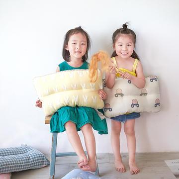 2019新款六层纱布可水洗儿童枕