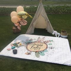 2018新款-野餐垫 140*200 hello 兔子