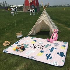 2018新款-野餐垫 140*200 仙人掌