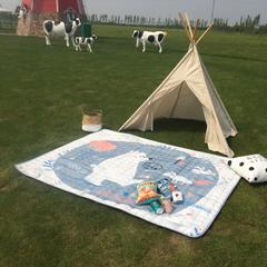 2018新款-野餐垫 140*200 熊与兔子