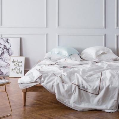 2019新款-水洗棉大豆纤维夏被 150x200cm 白