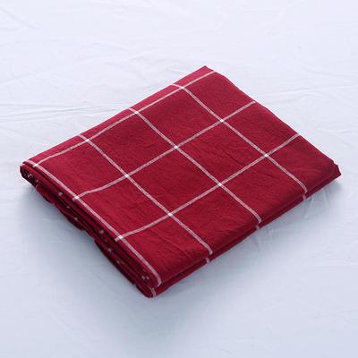 全棉水洗棉四件套单品枕套 普通款 74*48/只 盛夏格