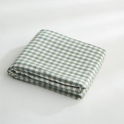 2018新款 全棉色织水洗棉单品被套 150*200 晚秋格