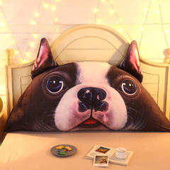 卡通公主抱枕床头大靠背靠枕儿童靠垫1.2m1.5m皇冠带芯软靠垫 0.9米床 高约50 斗牛士