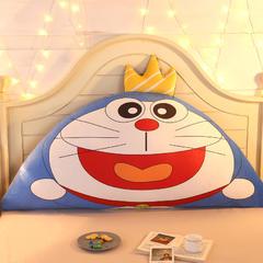 卡通公主抱枕床头大靠背靠枕儿童靠垫1.2m1.5m皇冠带芯软靠垫 0.9米床 高约50 皇冠叮当猫