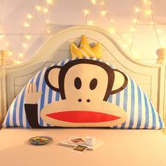 卡通公主抱枕床头大靠背靠枕儿童靠垫1.2m1.5m皇冠带芯软靠垫 0.9米床 高约50 皇冠猴