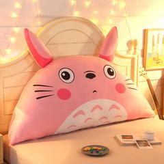 卡通公主抱枕床头大靠背靠枕儿童靠垫1.2m1.5m皇冠带芯软靠垫 0.9米床 高约50 龙猫