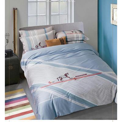 2019新款60长绒棉四件套 1.8m(6英尺)床 纯真年代