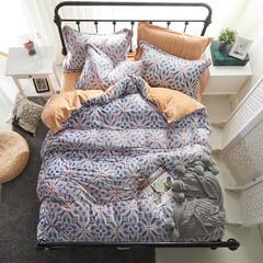 保暖绒四件套(雕花绒系列) 1.8m(6英尺)床 花样倾城