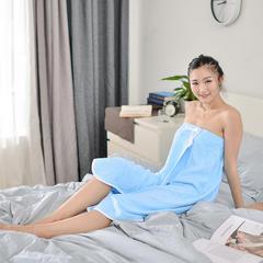 家居用品-蓝色浴裙 140*90cm 蓝色